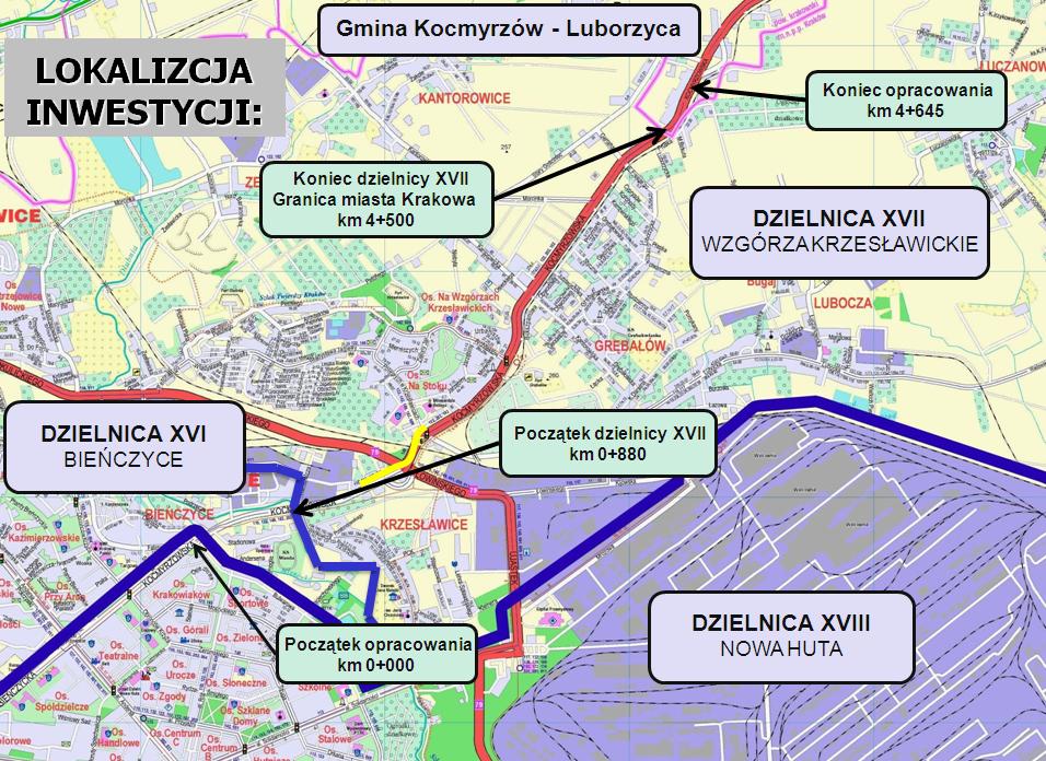 Co dalej z ulicą Kocmyrzowską?